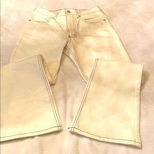 Chloe Sevigny white jeans, new with tags, sz 2